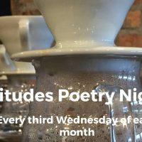Latitudes hosts Dave Lucas, Ohio Poet Laureate!