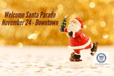 Welcome Santa Parade - Downtown Akron