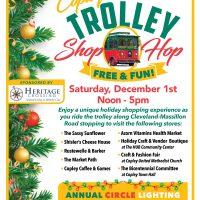 Copley Bicentennial Trolley Shop Hop