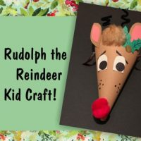 Reindeer craft event for Kaleidoscope Holiday Art Show at Summit Artspace