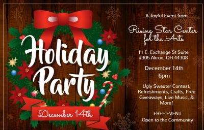 Rising Star Center for the Arts Holiday Party
