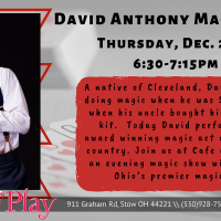DAVID ANTHONY MAGIC SHOW!