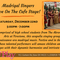 MADRIGAL SINGERS, Live On The Cafe Stage!