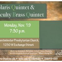 Solaris Quintet and Faculty Brass Quintet