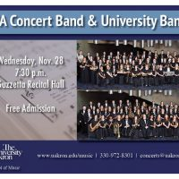 UA Concert Band and University Band