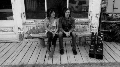 Jen Maurer and Anthony Papaleo vintage rock at Tiki Underground