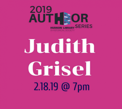 An Evening with Judith Grisel, Author of Never Enough