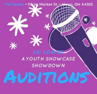 Auditions for Lil' Loaves (A Youth Showcase Showdo...
