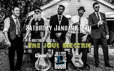 Matthew Alec & The Soul Electric at Jilly's Music Room!