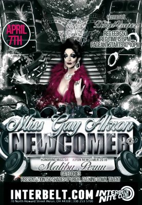 Miss Gay Akron Newcomer 2019/2020