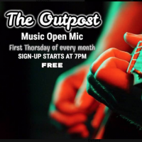 The Outpost Music Open Mic