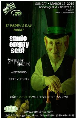 Smile Empty Soul - A 175 Concert Experience!