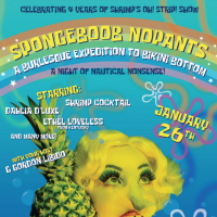 SpongeBoob NoPants: A Burlesque Expedition to Bikini Bottom