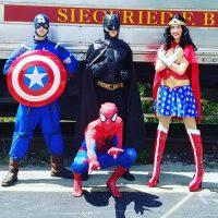 Superheroes and Sidekicks