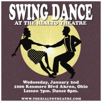 Swing Dance in Akron at The Rialto Theatre