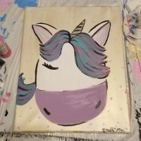 Kid's Snack and Paint-Unicorn