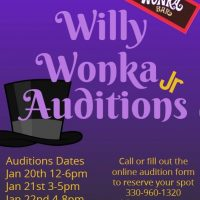 Willy Wonka Jr. Auditions