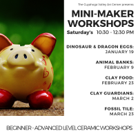 CVAC Mini-Maker Workshops