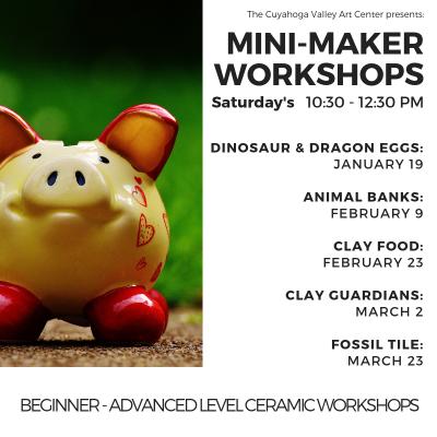 CVAC Mini-Maker Workshops