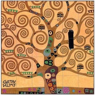 """Sip and Paint: Klimt's """"Tree of Life"""" at Wolf Cree..."""