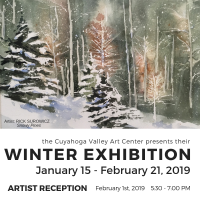 ARTISTS RECEPTION: Winter Exhibition