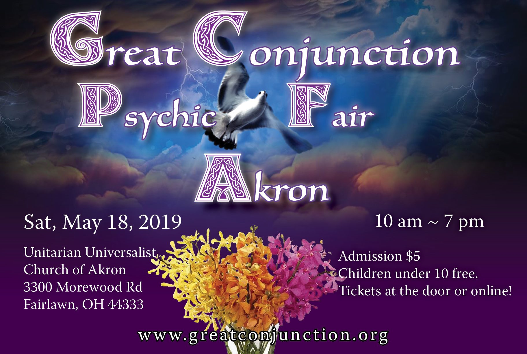 Great Conjunction Psychic Fair presented by Great Conjunction