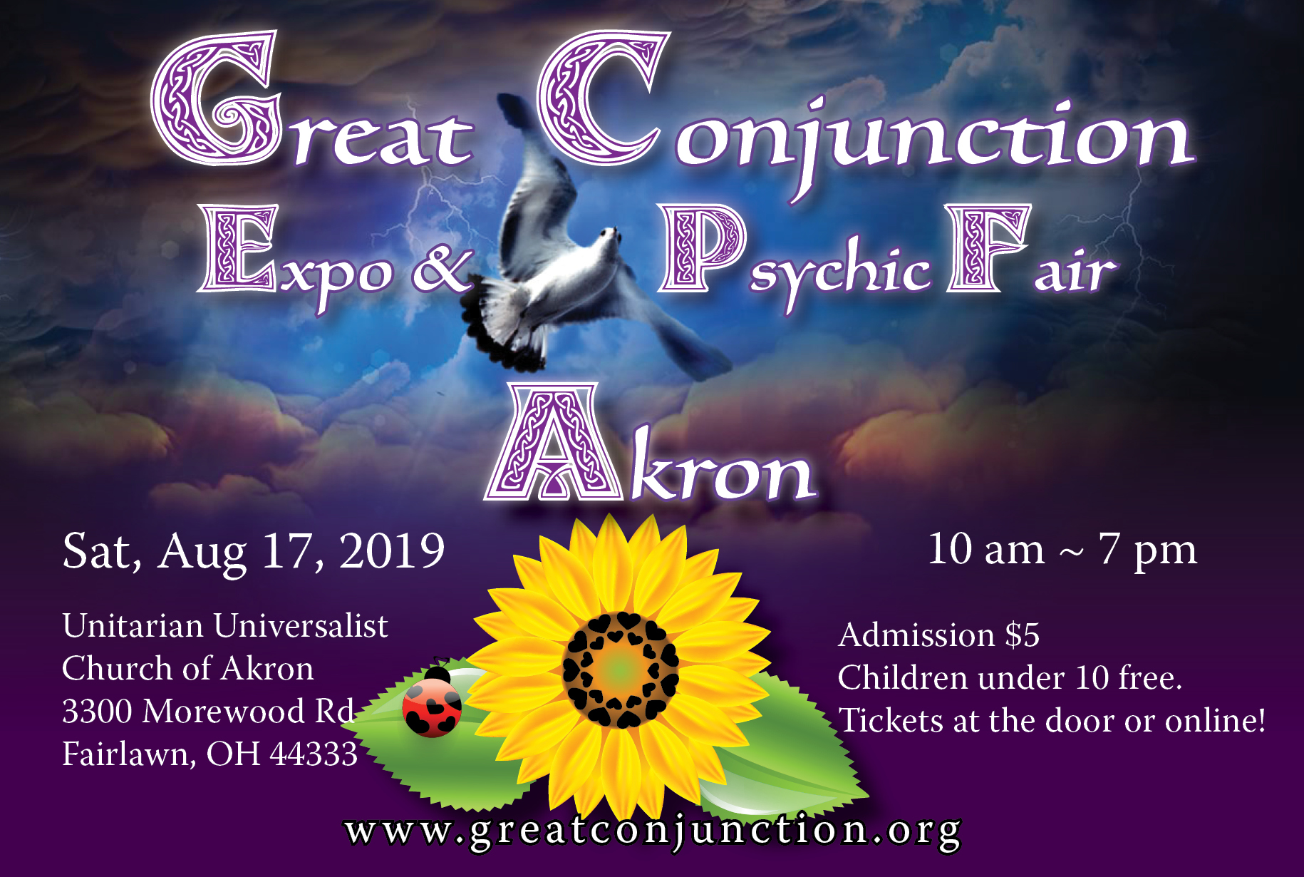 Great Conjunction Psychic Fair – Summer 2019 | The