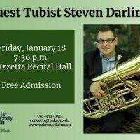 Guest Tubist Steven Darling