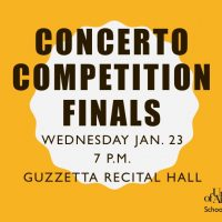 Concerto Competition Finals