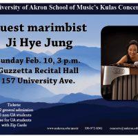 Guest Marimbist Ji Hye Jung