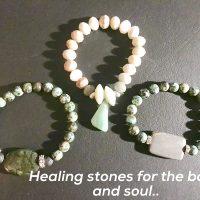Natural & Organic Bead Bracelet