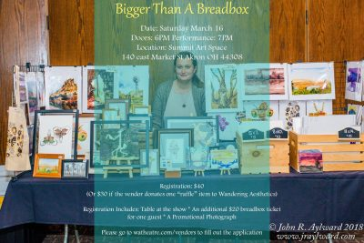 CALL FOR VENDORS: Bigger Than a Breadbox at Summit Artspace