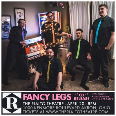 Fancy Legs CD Release