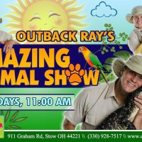 OUTBACK RAY's AMAZING ANIMAL SHOW!