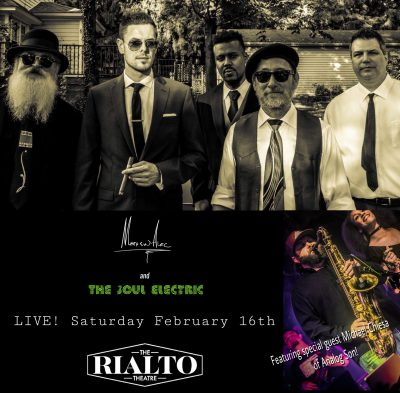 Matthew Alec & The Soul Electric at The Rialto...