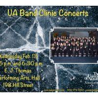 UA Band Clinics Concert
