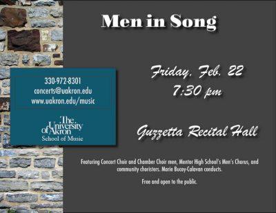 Men in Song