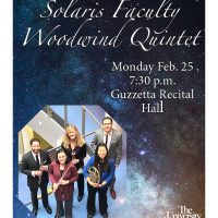 Solaris Faculty Woodwind Quintet