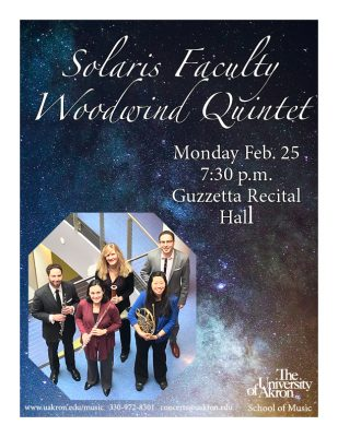 Solaris Faculty Woodwind Quintet