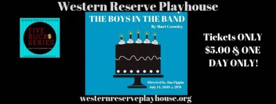 Auditions for our Staged Reading of The Boys in th...