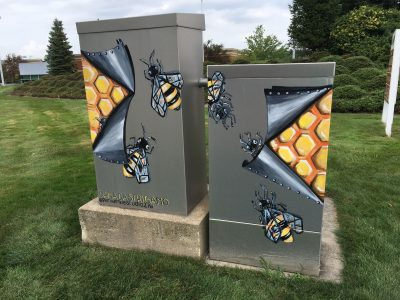 Electrical Box Creations #8 - Dana Castrigano