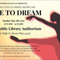 """Division Dance Co. First Annual Showcase """"Dare To Dream"""""""