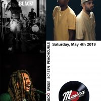 Free Black!, Peachcurls, & Smoke Screen at Musica
