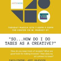 VIBE Artist Workshop Series: Taxes and Creatives