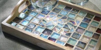 Mosaic Tile Tray - Paint Party Class
