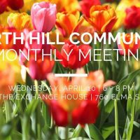 North Hill Monthly Gathering (Apr)