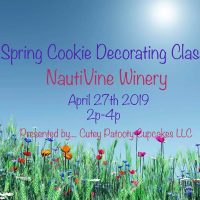 Spring Themed Cookie Decorating Class