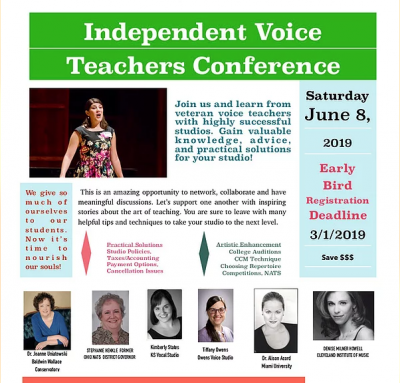Independent Voice Teachers Conference