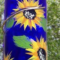 Wine BottleHummingbird Feeder - Sip & Paint Party Art Class