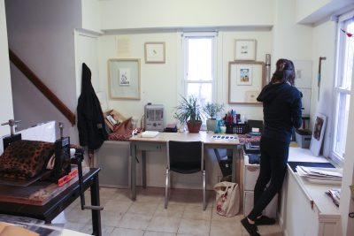 Studio Space for Fine Artists & Printmakers!